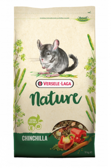 Versele-Laga NATURE Chinchilla 9kg