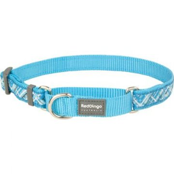 Ob. polos. RD 15 mm x 26-40 cm - Flanno Turquoise