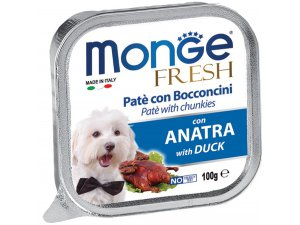 MONGE FRESH Dog kachna 100g/32ks