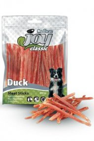 Calibra Joy Dog Classic Duck Strips 250g NEW