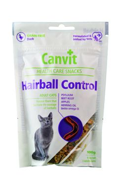 Canvit Snacks CAT Hairball Control 5x100g